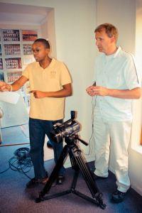 Directing my cameraman